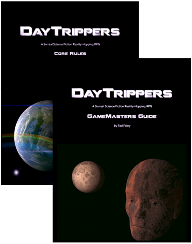 DayTrippers - Best Selling Surreal SF RPG