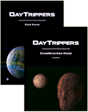 DayTrippers Core Rules and GameMasters Guide
